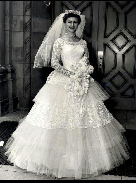 1960 bride.