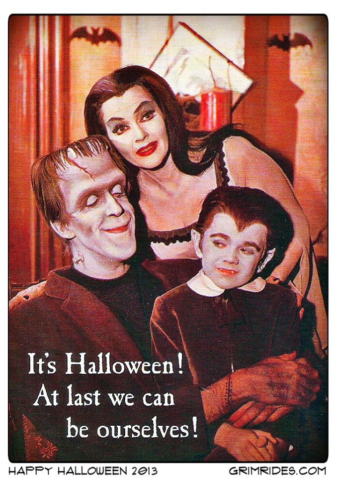 happy halloween from the munsters - Munsters Halloween Episode
