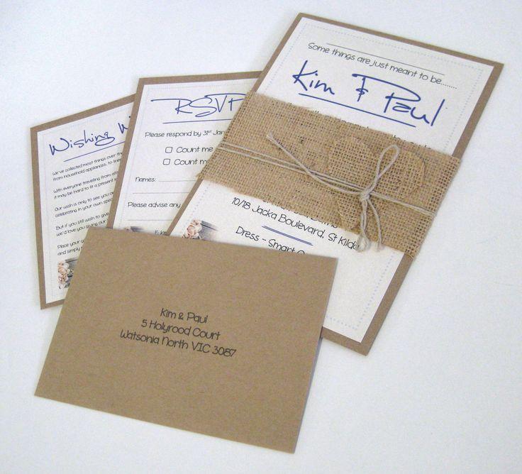 Invitations, RSVP's, Wishing Wells & Envelopes.  www.epping.minutemanpress.com