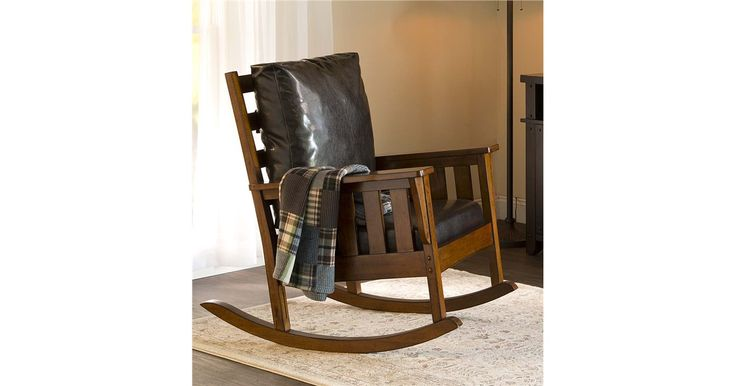 Grove Park Rustic Rocking Chair
