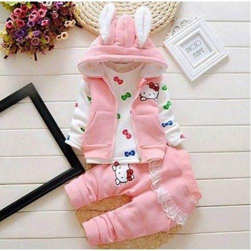 Ertuğ Hello Kitty Kışlık Kız Çocuk Takımı 69,90 TL ile n11.com'da! E-ewen Elbise