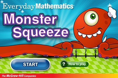 $0.00 (Reg 1.99) Everyday Mathematics® Monster Squeeze™ By McGraw-Hill School Education Group. FREE THIS WEEK for teacher appreciation week.