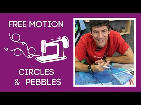 This is a great tutorial--makes me want to try circles--FMQ Skills & Drills: Circles & Pebbles | Always Great, Always Free Quilting Tutorials