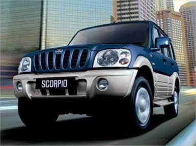 Mahindra Scorpio 25 CRDe Turbo 4WD
