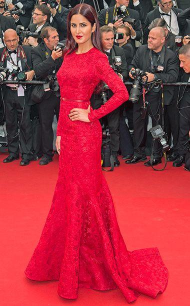 Cannes Film Festival 2015: The Most Breathtaking Dresses | Katrina Kaif | EW.com