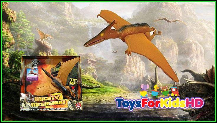 Dinosaurios de juguete - Mighty Megasaur Pteranodon - brinquedos do dino...