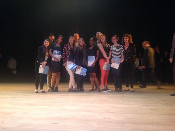 MOVIMENTO - Marseille - juin 2015 - Cérémonie de remise d'EUROPASS