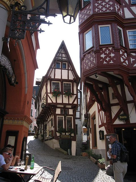 Bernkastel-Kues is a town over 700 years old, located on the Middle Moselle river in Rhineland-Palatinate, Germany.