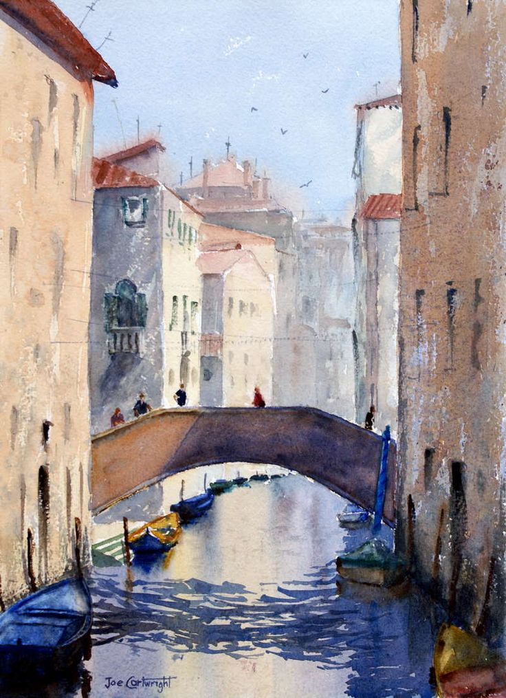 Watercolor Paintings Venice Gallery.Venice Italy watercolour