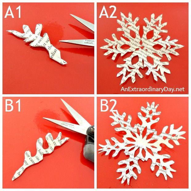 Paper Snowflakes - a few patterns