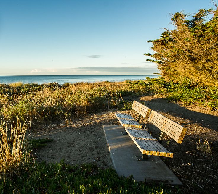 A place to sit and watch the sun go down at Waikanae Beach, Kapiti Coast, New Zealand. Ref No: NZNK169155