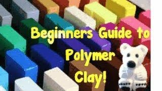 If you ever want to start working with Polymer Clay-This video is a MUST WATCH! Created by Tatiana Ambrose