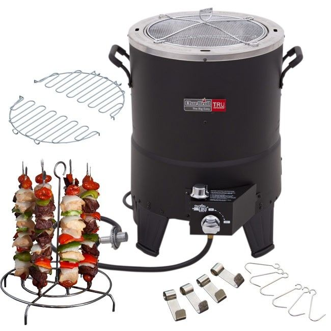 Big Easy Oil-Less Turkey Fryer with Accessories
