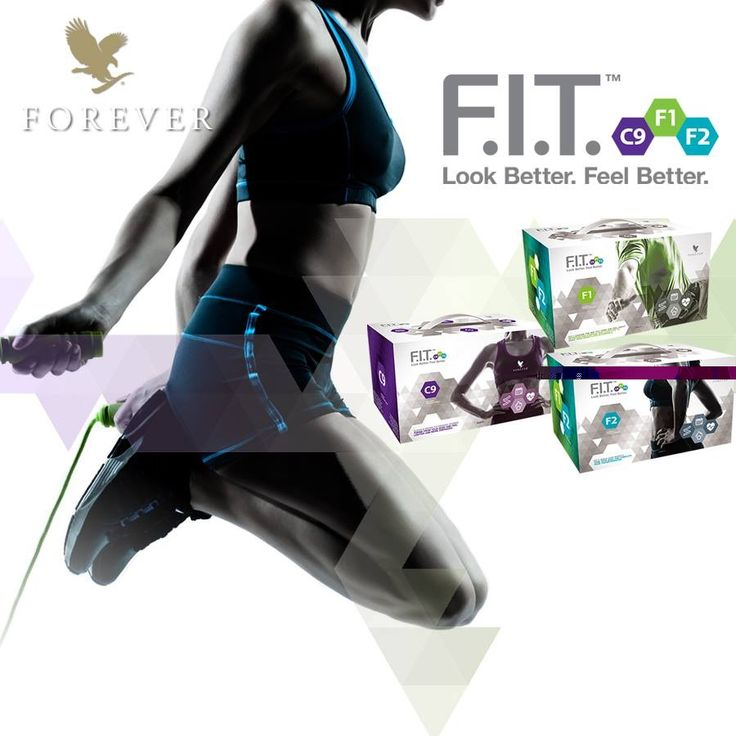"""Forever F.I.T. is een geavanceerd voedings-, reinigings- en afslankprogramma. Ontwikkeld door Forever om u te helpen er beter uit te zien en u beter te voelen in drie eenvoudig te volgen stappen. Start met de """"cleansing"""" Clean 9, pak door met F.I.T.1 en maak uw transformatie compleet met F.I.T.2. Na deze drie stappen bent u werkelijk FIT - Forever! www.startdetox.nl"""