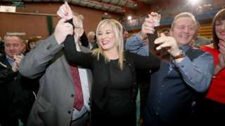 First results in Northern Ireland Assembly election