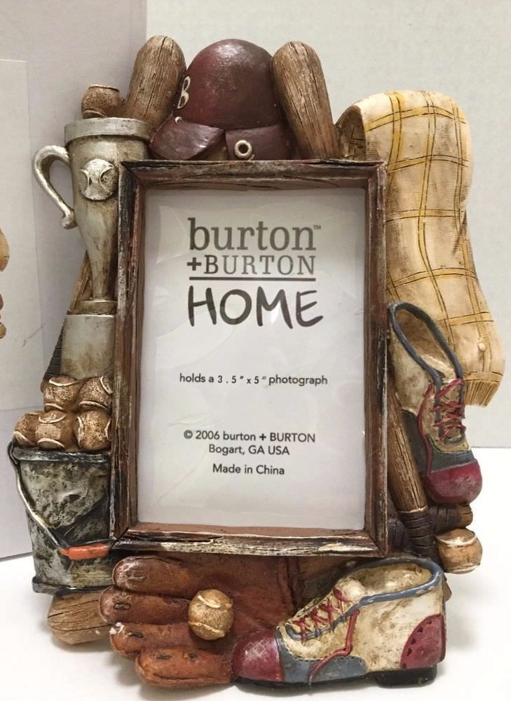Baseball Picture Frame From Burton And Burton Home Frame 5
