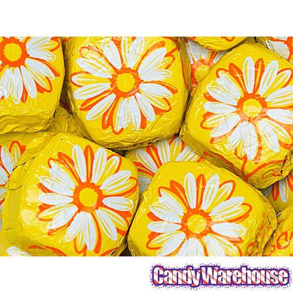 Dove Caramel & Milk Chocolate Flowers: 30-Piece Bag