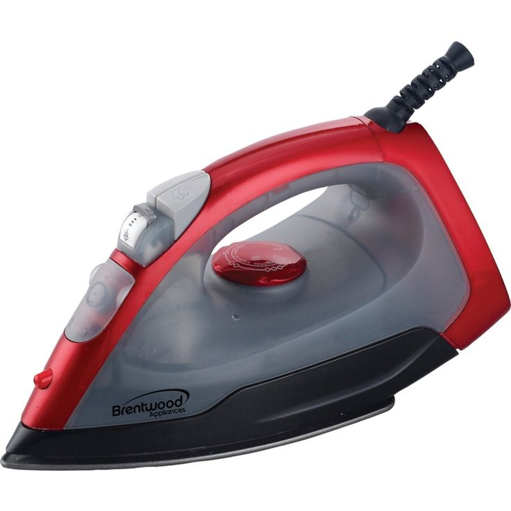 Brentwood MPI-53 Steam, Spray, And Dry Iron, Red