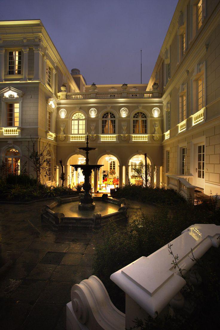 Casa Gangotena Quito Ecuador.... hermoso lugar!!!