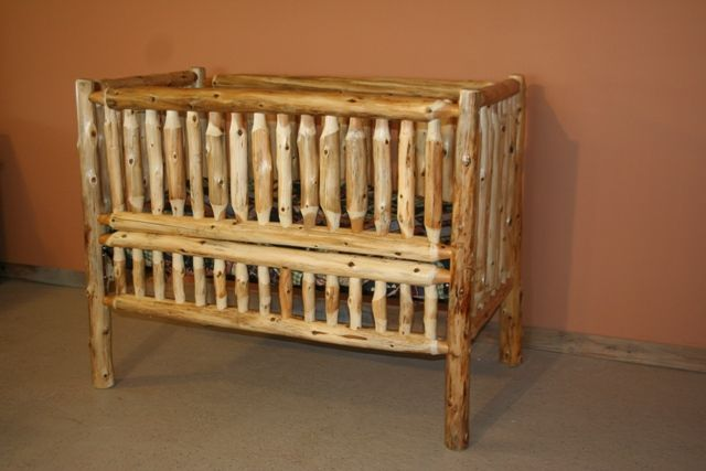 Log Baby Cribs 28 Images Amish Built Bedroom