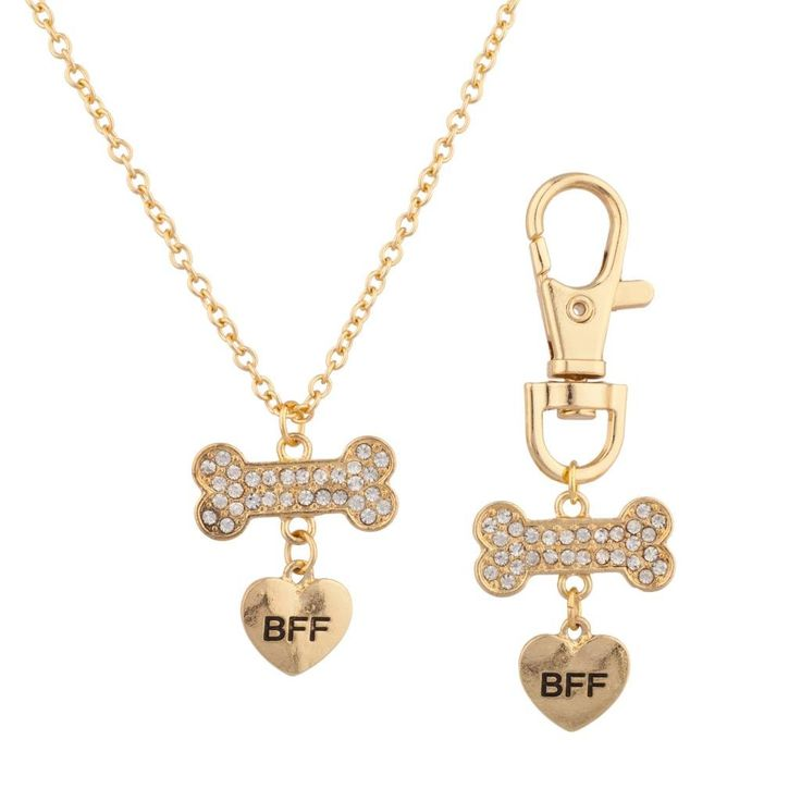 Best Friend Dog Collar Charm