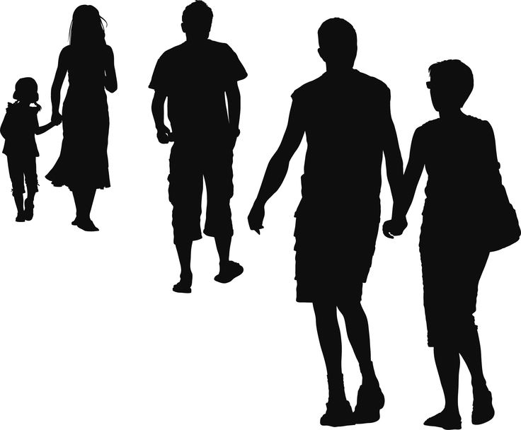 people silhouettes_17