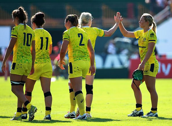 Australia lead after opening day at Women's Rugby Sevens Series in Dubai