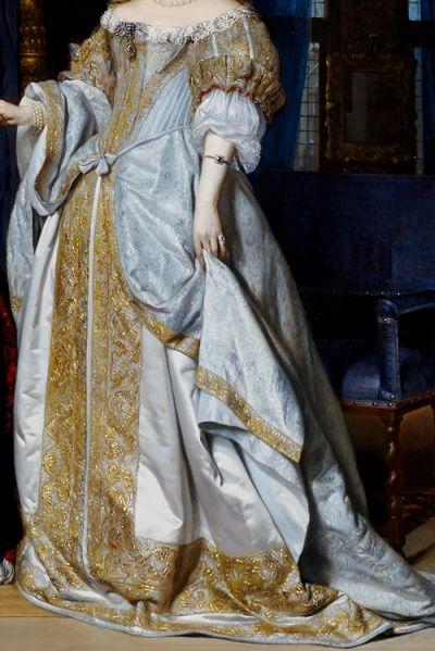 warpaintpeggy: INCREDIBLE DRESSES IN ART (76/∞)Portrait of a Lady by Gabriel Metsu, 1667