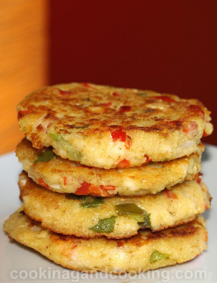 Couscous Feta Cakes Recipe