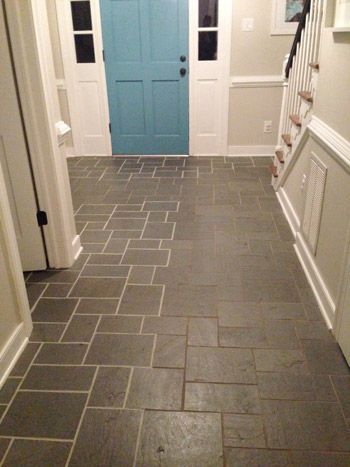 How to Spruce Up Grout... I'm ashamed to admit that our entryway tile looks exactly like the before pictures. The husband seems a little leery about doing this to our floor. Guess what the next project is when he's gone for a work trip.