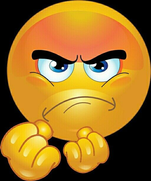 Back up dude you don't want none of this - Angry Smiley lol.
