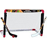 awesome Franklin Sports NHL Chicago Blackhawks Mini Hockey Goal, Stick and Ball Set
