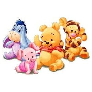 This is a photo of Exhilarating Baby Winnie the Pooh and Friends