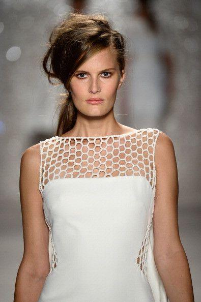 Pamella Roland at #NYFW  http://www.unadonna.it/moda/pamella-roland-primavera-estate-2014/42824/