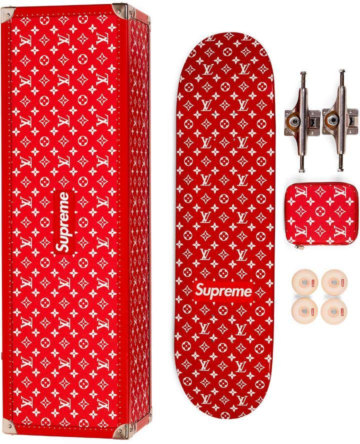dca7a18c Supreme Skateboard Deck Monogram Red | FASHION STOP AND SHOP ...