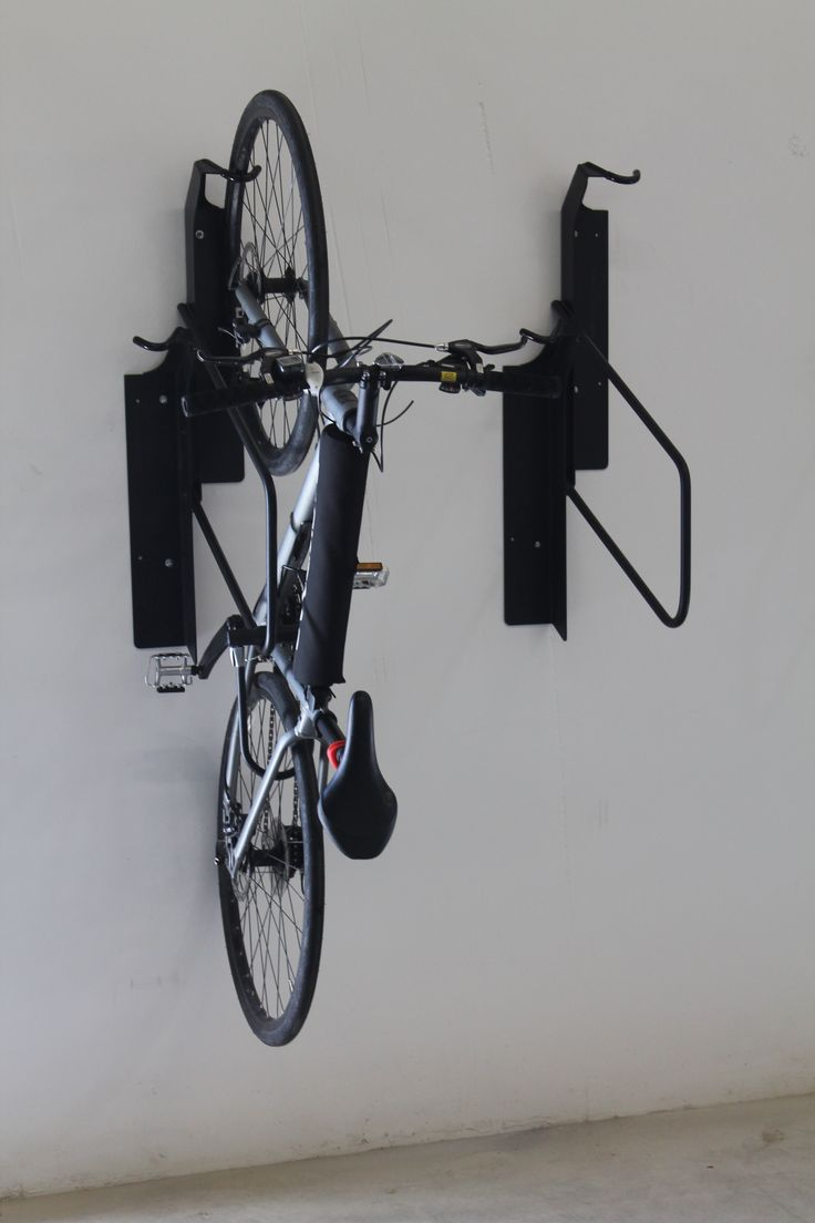 Look jeremy s bicycle rack apartment therapy - Offset Vertical Bike Rack Commercial Heavy Duty High Security 03