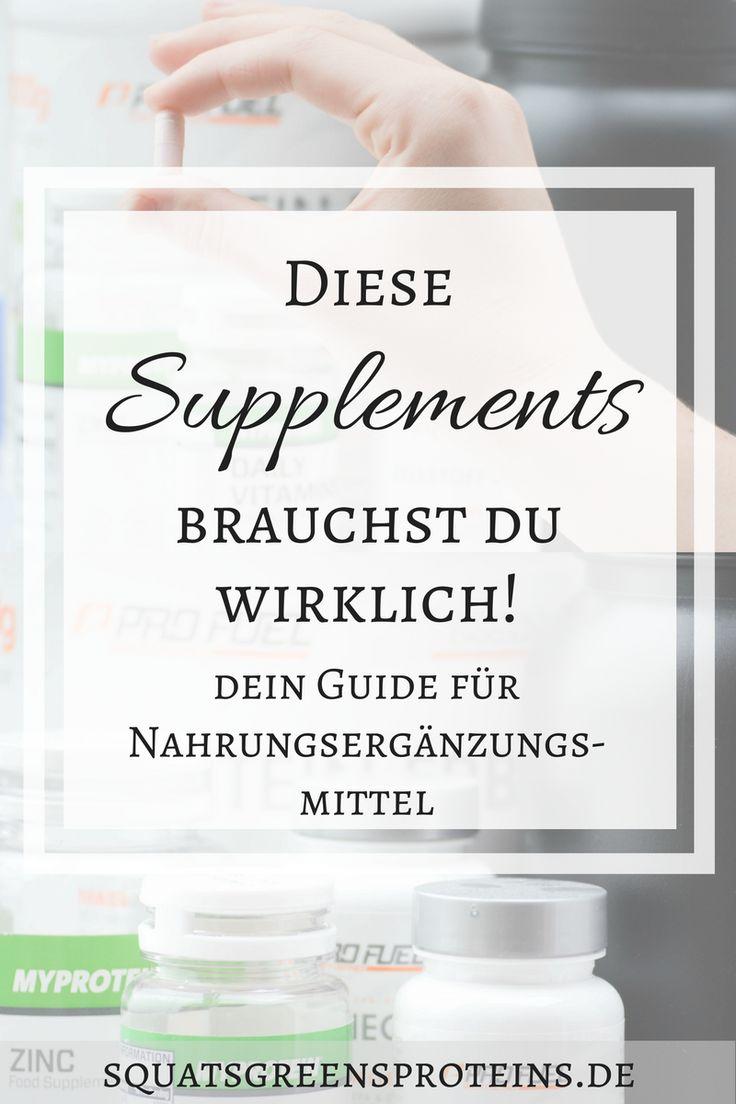 Diese Supplements brauchst du wirklich - dein Guide für Nahrungsergänzungsmittel!