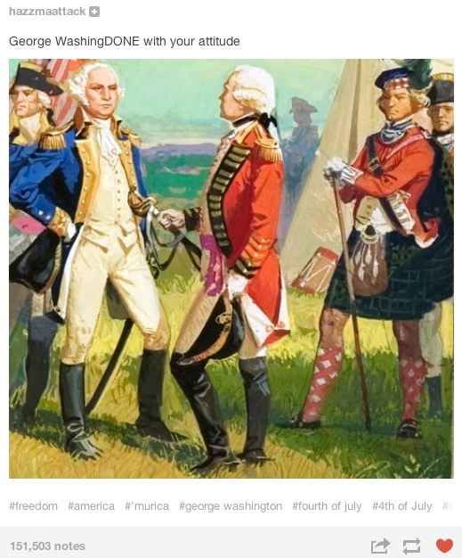 American Independence   17 Ye Olde Things Explained By Tumblr