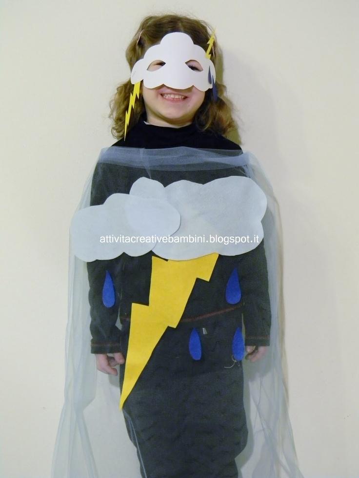 Attività Creative Per Bambini: Costume da Temporale sul sito dei Piccolini Barilla  http://www.piccolini.it/carnevale-2013/idee/#famiglia-cielo/bambina/