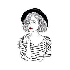рисунки тамблер девушек - Пошук Google