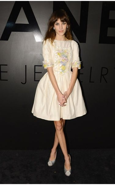 Chanel dress, Chanel Fine Jewelry, and Tabitha Simmons shoes  Ten Best Dressed — Ice Queens