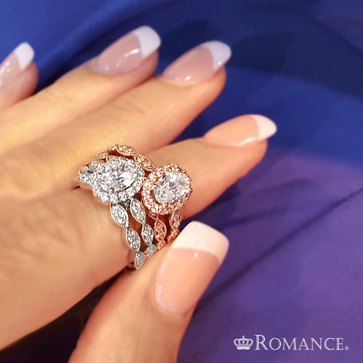 24 best Romance Diamond Bridal Collection Engagement Rings and