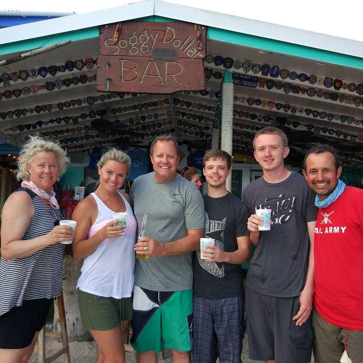 Looking for the perfect #painkiller in the #bvi? Hit the #soggydollar bar #jostvandyke home of the #cocktail. Just like #sailcheckers #teamlambert #doingsomethingamazingwithsailing.