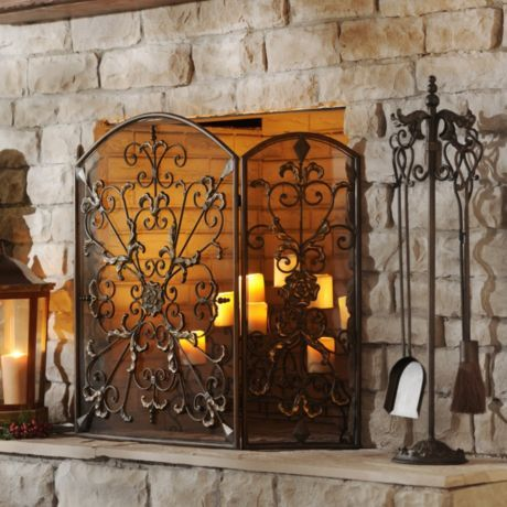 17 Best images about Fireplace Screens on Pinterest | Pewter ...
