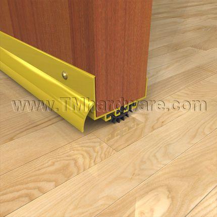 Door Shoe Sweep For Doors With Rain Drip Cap And