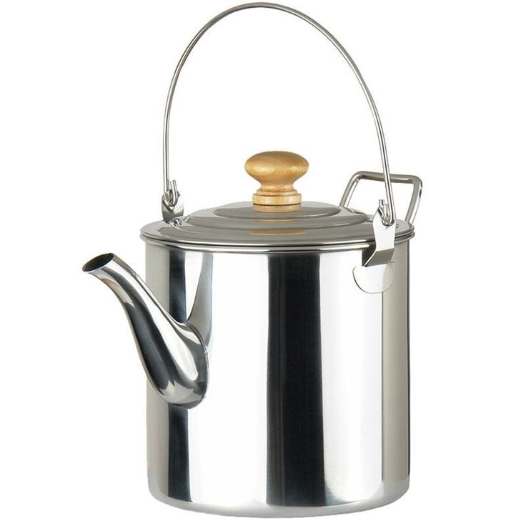 Camping Percolator Coffee Maker Camping Pot Stainless Steel Kettle 67 Ounce #CampingPercolator