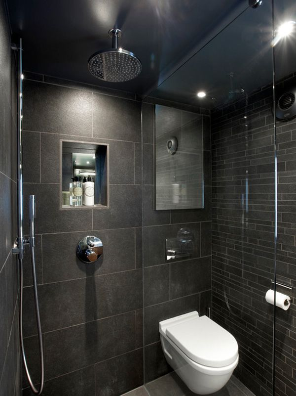 Wet Room | Bathroom Design | Bath Tile Ideas