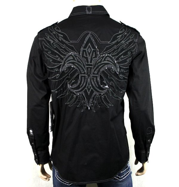button down shirts for men embroidered | Roar Men's Shirt Challenger Embroidered Button Down | eBay