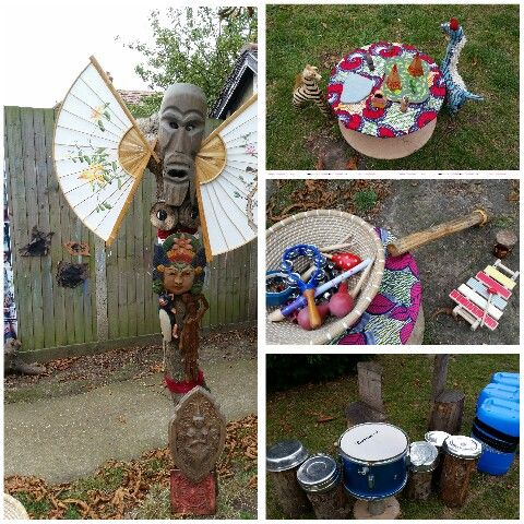 Sounds, rhythm and stories at Chadwell Pre-school