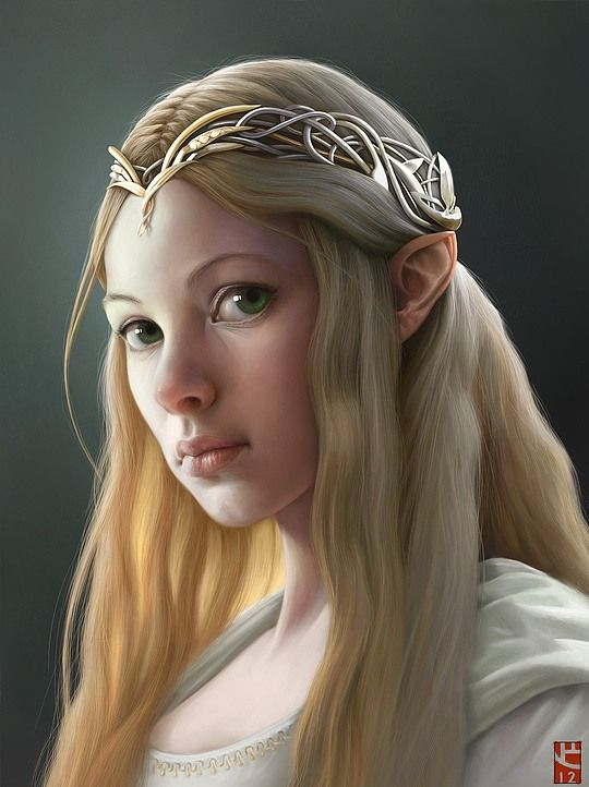 Hot Digital Paintings by Corrado Vanelli (does anyone else think this looks like the elf queen lady form lord of the rings? sorry forgot her name)